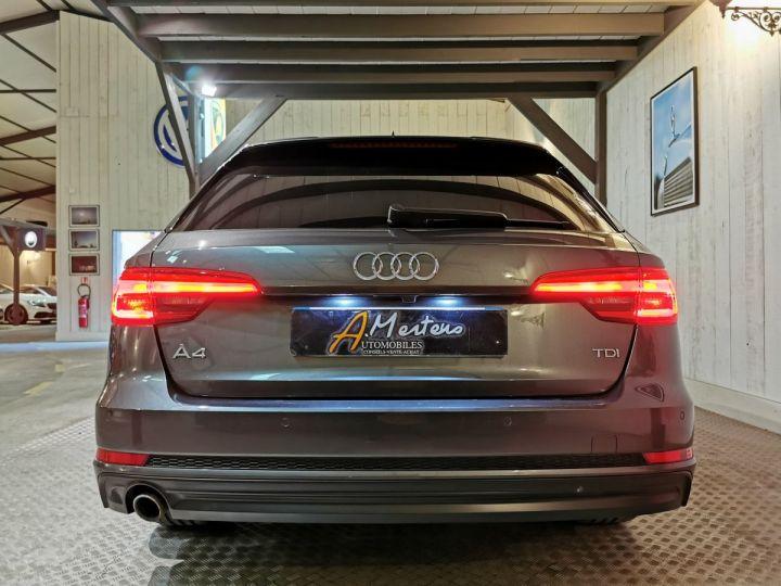 Audi A4 Avant 2.0 TDI 150 CV SLINE BVA Gris - 4