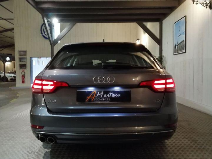 Audi A4 Avant 2.0 TDI 190 CV DESIGN LUXE BVA Gris - 4