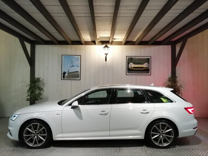 Audi A4 Avant 2.0 TDI 190 CV DESIGN LUXE BVA Blanc - 1