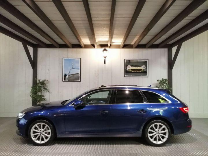 Audi A4 Avant 2.0 TDI 190 CV DESIGN LUXE QUATTRO BVA Bleu - 1