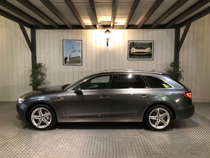Audi A4 Avant 2.0 TDI 190 CV SLINE QUATTRO BVA Gris - 1