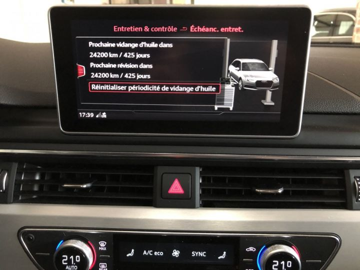 Audi A4 Avant 2.0 TDI 190 CV SLINE QUATTRO BVA Gris - 20