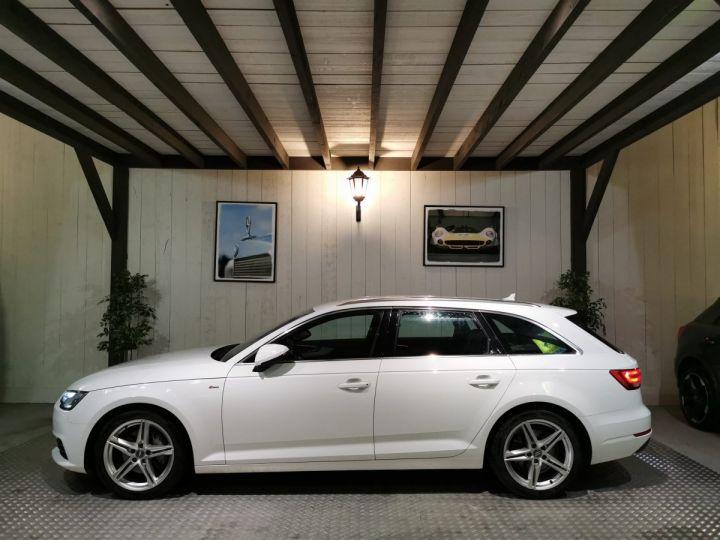 Audi A4 AVANT 2.0 TDI 190 CV SLINE QUATTRO BVA Blanc - 1