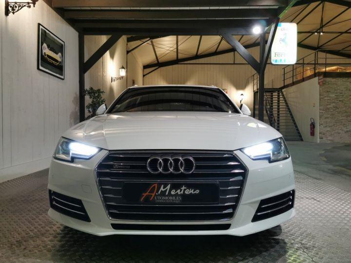 Audi A4 AVANT 2.0 TDI 190 CV SLINE QUATTRO BVA Blanc - 3