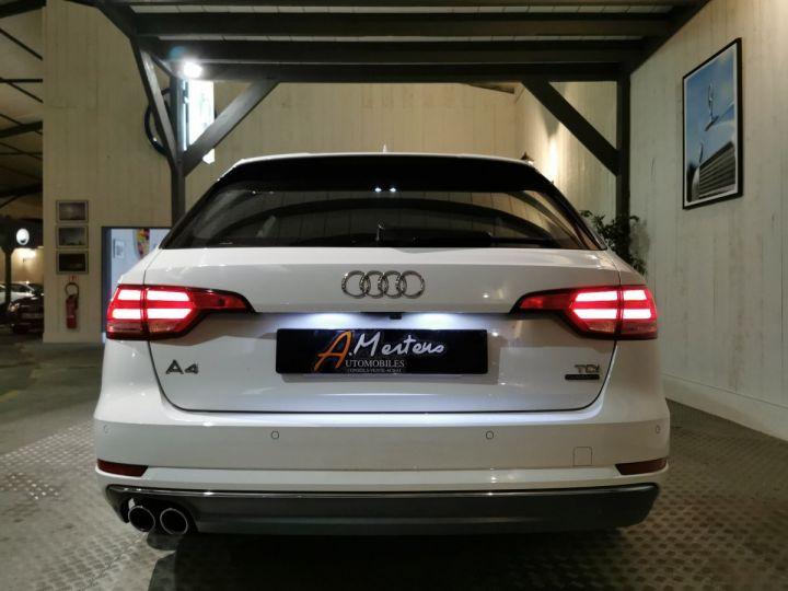 Audi A4 AVANT 2.0 TDI 190 CV SLINE QUATTRO BVA Blanc - 4