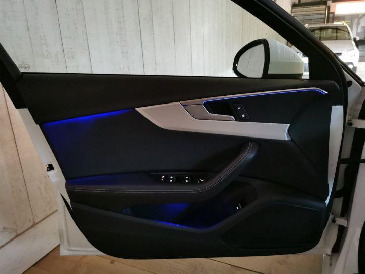 Audi A4 AVANT 2.0 TDI 190 CV SLINE QUATTRO BVA Blanc - 8