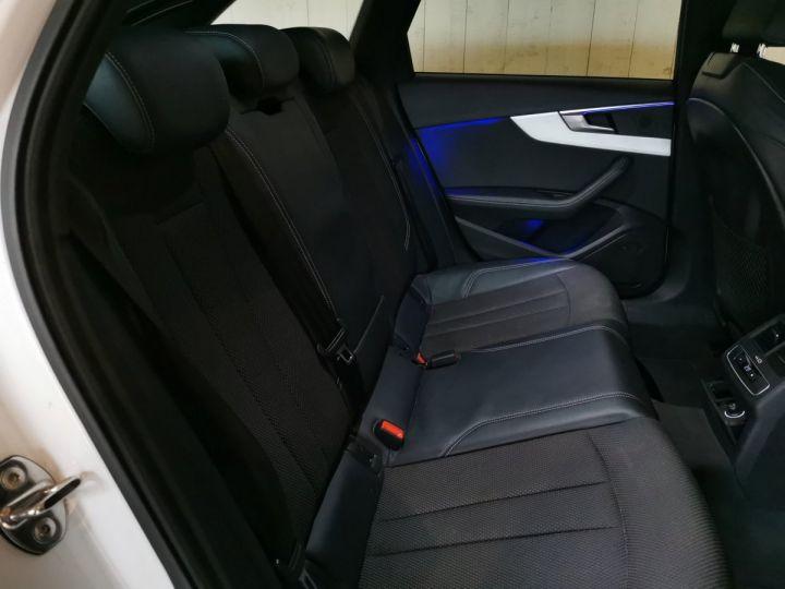 Audi A4 AVANT 2.0 TDI 190 CV SLINE QUATTRO BVA Blanc - 9