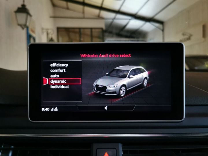 Audi A4 AVANT 2.0 TDI 190 CV SLINE QUATTRO BVA Blanc - 11