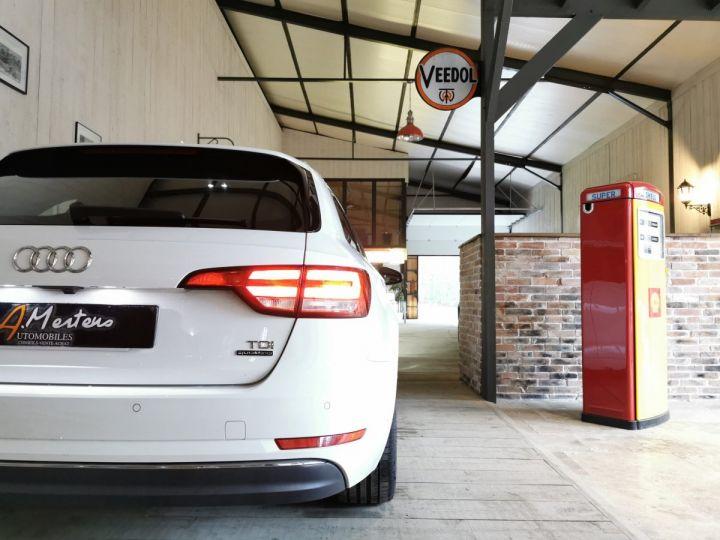 Audi A4 AVANT 2.0 TDI 190 CV SLINE QUATTRO BVA Blanc - 13
