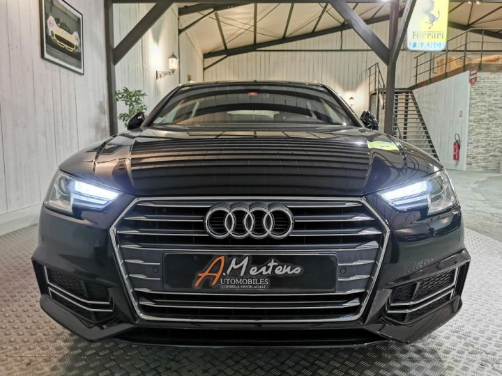 Audi A4 Avant 2.0 TDI 190 CV SLINE STRONIC Noir - 3