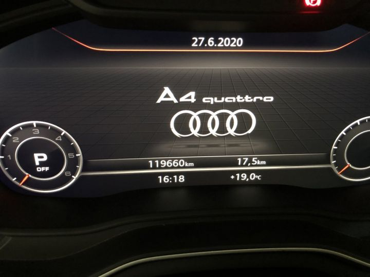 Audi A4 Avant 3.0 TDI 218 CV SLINE QUATTRO BVA Gris - 18