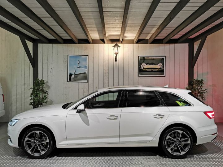 Audi A4 Avant 3.0 TDI 272 CV DESIGN LUXE QUATTRO BVA Blanc - 1