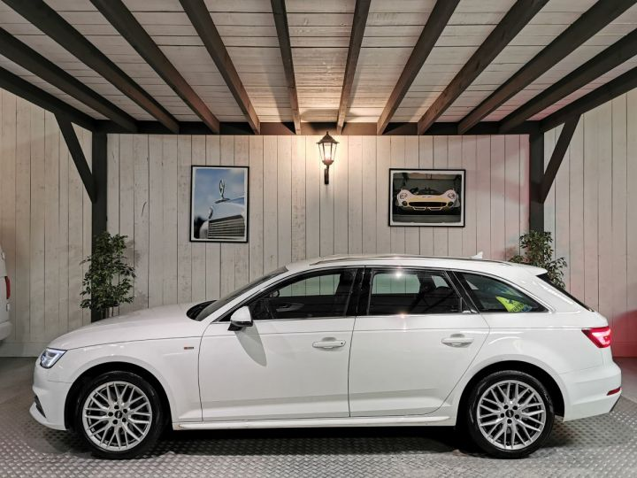 Audi A4 Avant 3.0 TDI 272 CV SLINE QUATTRO BVA8 Blanc - 1