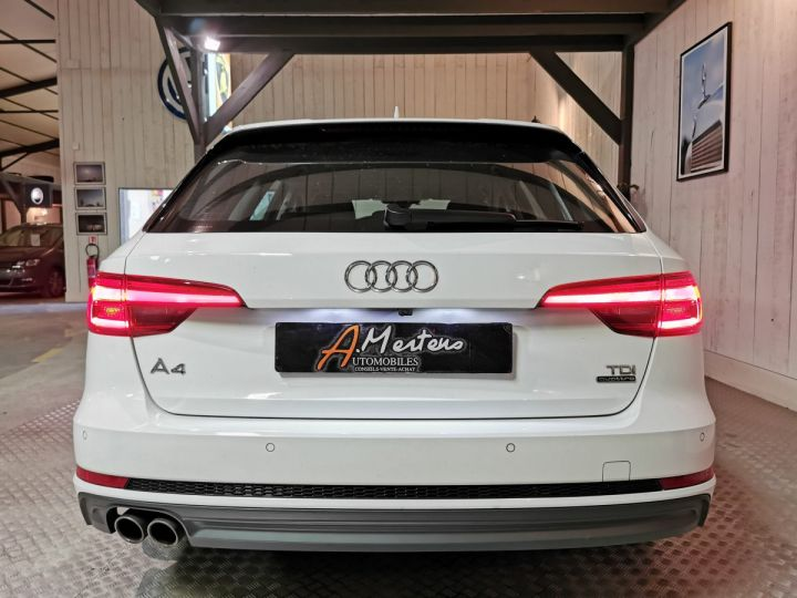 Audi A4 Avant 3.0 TDI 272 CV SLINE QUATTRO BVA8 Blanc - 4