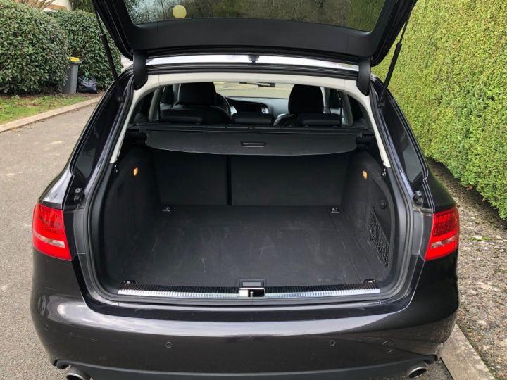 Audi A4 Avant 3.0 V6 TDI 240 DPF AMBIENTE QUATTRO TIPTRONIC 6 Gris foncé métal Occasion - 4