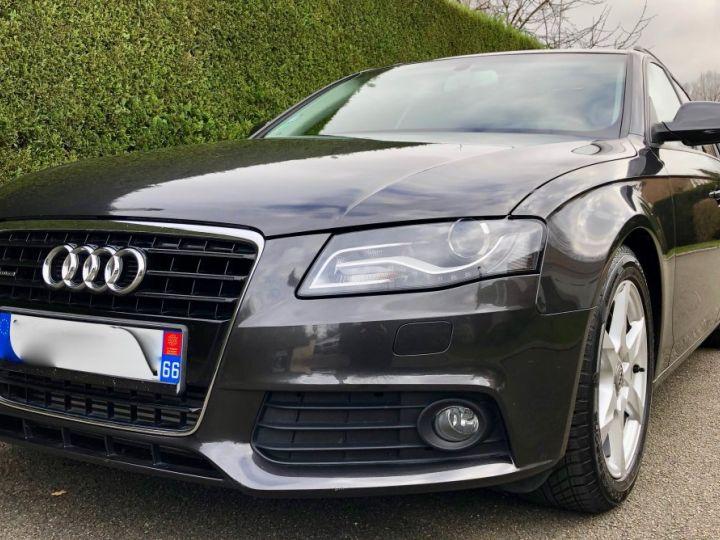 Audi A4 Avant 3.0 V6 TDI 240 DPF AMBITION LUXE QUATTRO TIPTRONIC 6 Gris foncé métal Occasion - 1