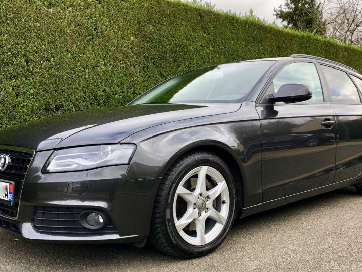 Audi A4 Avant 3.0 V6 TDI 240 DPF AMBITION LUXE QUATTRO TIPTRONIC 6 Gris foncé métal Occasion - 2