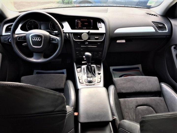 Audi A4 Avant 3.0 V6 TDI 240 DPF AMBITION LUXE QUATTRO TIPTRONIC 6 Gris foncé métal Occasion - 5