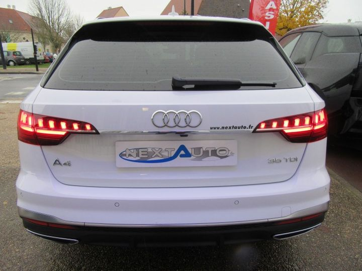 Audi A4 Avant 35 TDI 163CH S LINE S TRONIC 7 94G Blanc Occasion - 7