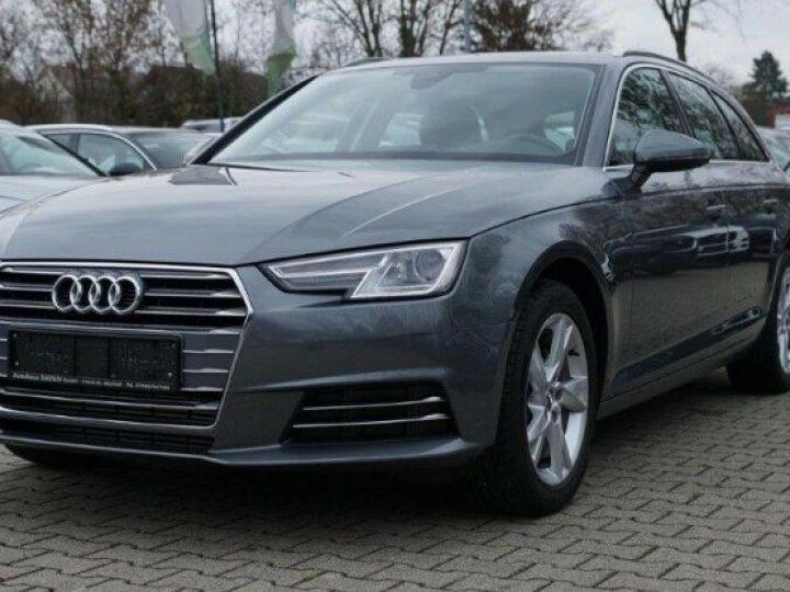 Audi A4 Avant V 2.0 TFSI 190 Sport S-tronic(06/2018) gris mousson  métallisé - 1