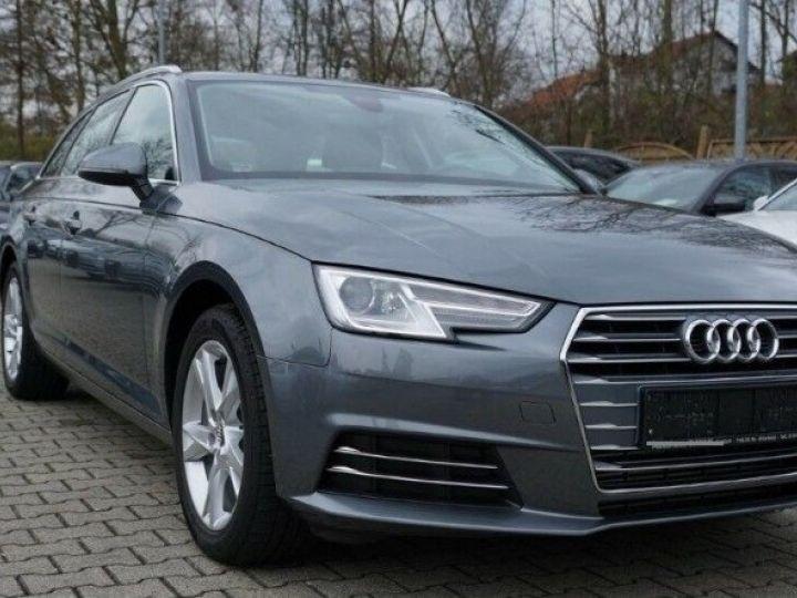 Audi A4 Avant V 2.0 TFSI 190 Sport S-tronic(06/2018) gris mousson  métallisé - 2