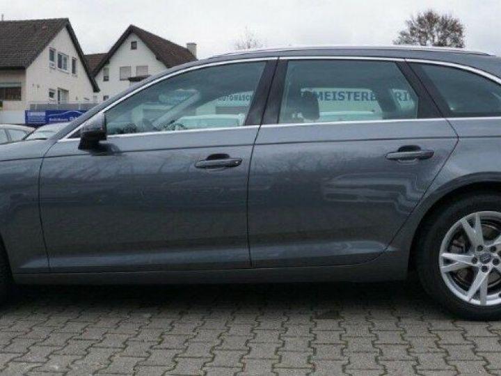 Audi A4 Avant V 2.0 TFSI 190 Sport S-tronic(06/2018) gris mousson  métallisé - 4