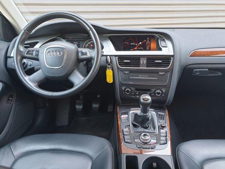 Audi A4 IV 2,0 TDI 143 AMBITION LUXE Gris Anthracite Métallisé Occasion - 5