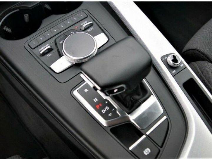 Audi A4 V 2.0 TFSI 190  Sport S-tronic(04/2018) noir métal - 16