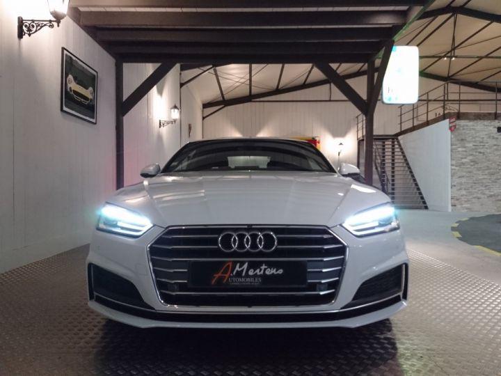 Audi A5 2.0 TDI 190 CV SLINE STRONIC Blanc - 3