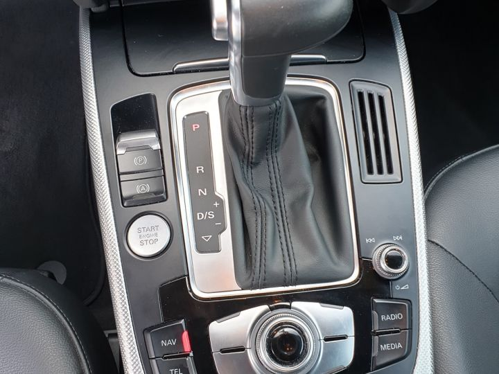 Audi A5 2.0 tdi 190 s line multitronic i Gris Anthracite Occasion - 10