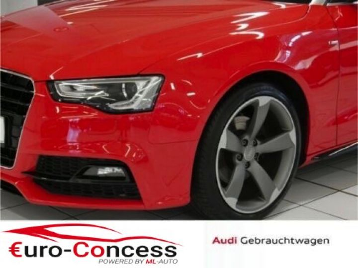 Audi A5 2.0 TDI S-LINE QUATTRO ROUGE - 5