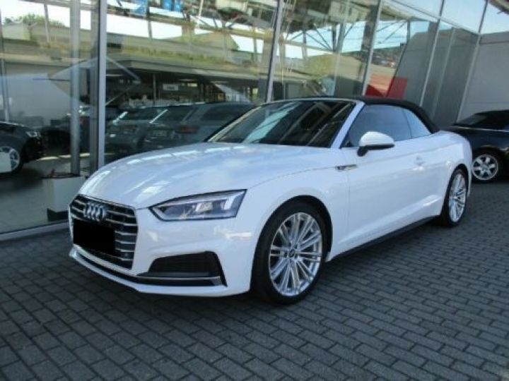 Audi A5 2.0 TFSI 190CH S LINE BLANC Occasion - 1