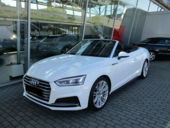 Audi A5 2.0 TFSI 190CH S LINE BLANC Occasion - 5