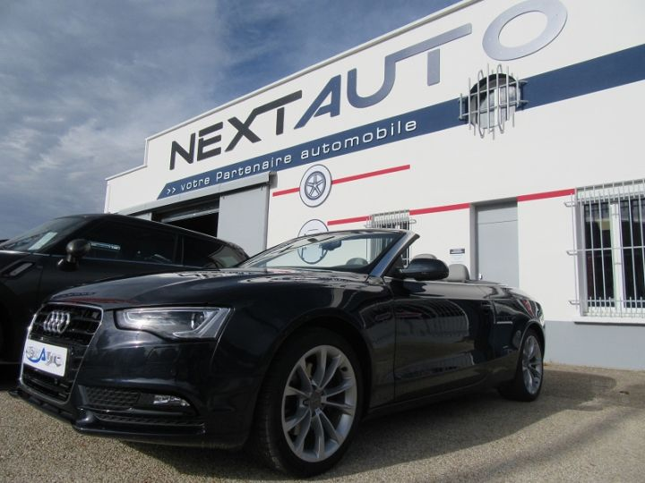 Audi A5 2.0 TFSI 211CH AMBITION LUXE MULTITRONIC BLEU FONCE Occasion - 1