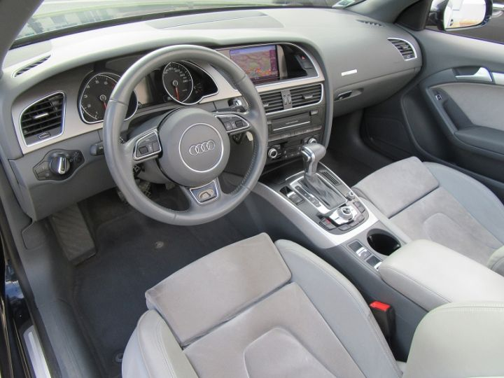 Audi A5 2.0 TFSI 211CH AMBITION LUXE MULTITRONIC BLEU FONCE Occasion - 2