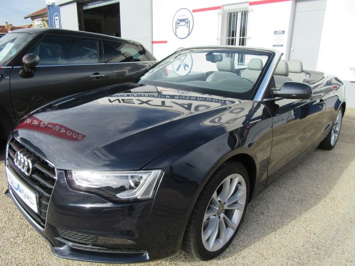 Audi A5 2.0 TFSI 211CH AMBITION LUXE MULTITRONIC BLEU FONCE Occasion - 13