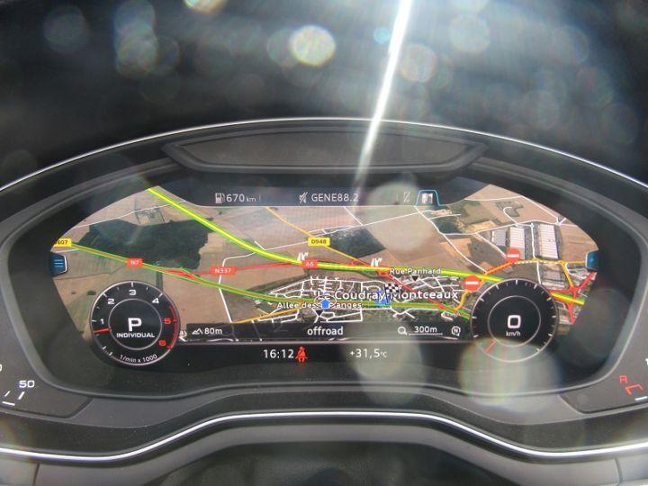 Audi A5 3.0 TDI 218CH S LINE QUATTRO S TRONIC 7 NOIR Occasion - 10