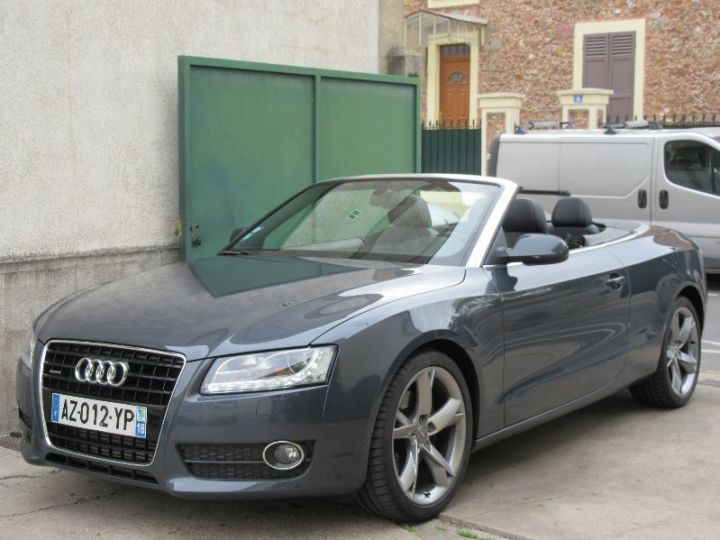 Audi A5 3.0 V6 TDI 240CH DPF AMBITION LUXE QUATTRO S TRONIC 7 GRIS FONCE Occasion - 1