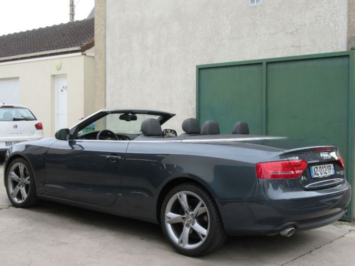 Audi A5 3.0 V6 TDI 240CH DPF AMBITION LUXE QUATTRO S TRONIC 7 GRIS FONCE Occasion - 3