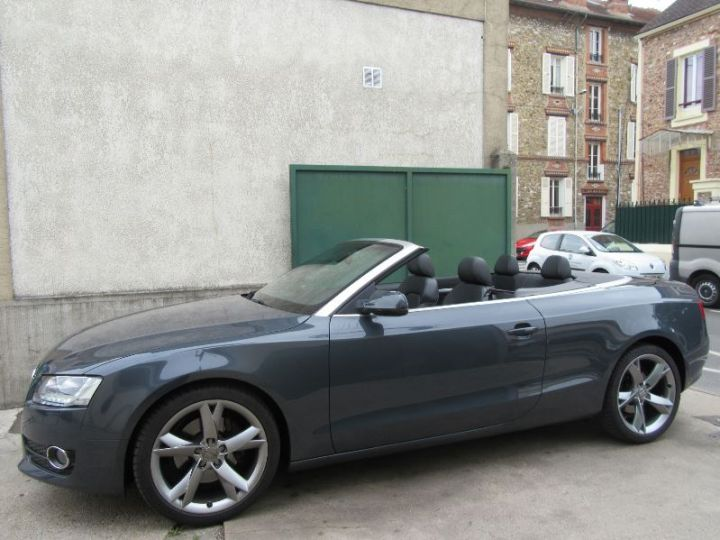 Audi A5 3.0 V6 TDI 240CH DPF AMBITION LUXE QUATTRO S TRONIC 7 GRIS FONCE Occasion - 5