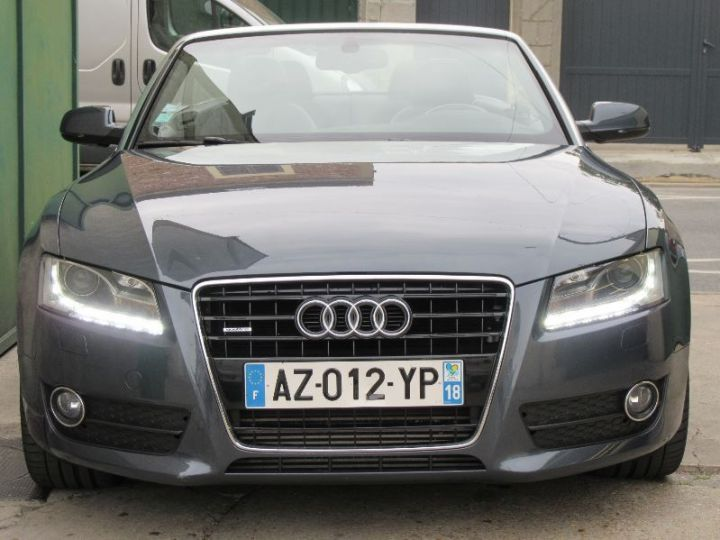 Audi A5 3.0 V6 TDI 240CH DPF AMBITION LUXE QUATTRO S TRONIC 7 GRIS FONCE Occasion - 6