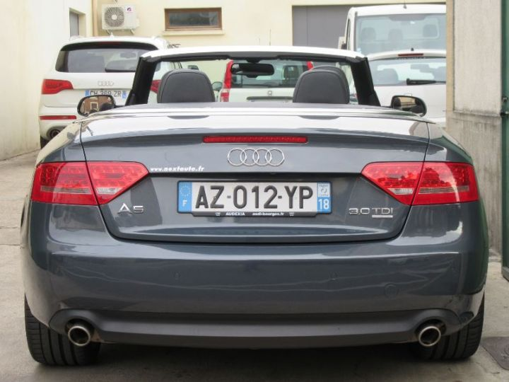 Audi A5 3.0 V6 TDI 240CH DPF AMBITION LUXE QUATTRO S TRONIC 7 GRIS FONCE Occasion - 7
