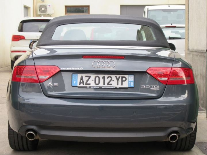 Audi A5 3.0 V6 TDI 240CH DPF AMBITION LUXE QUATTRO S TRONIC 7 GRIS FONCE Occasion - 13