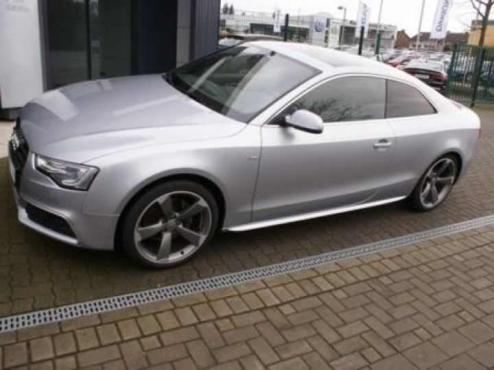 Audi A5 3.0 V6 TDI 245CH S LINE QUATTRO S TRONIC 7 GRIS  METALISEE - 1