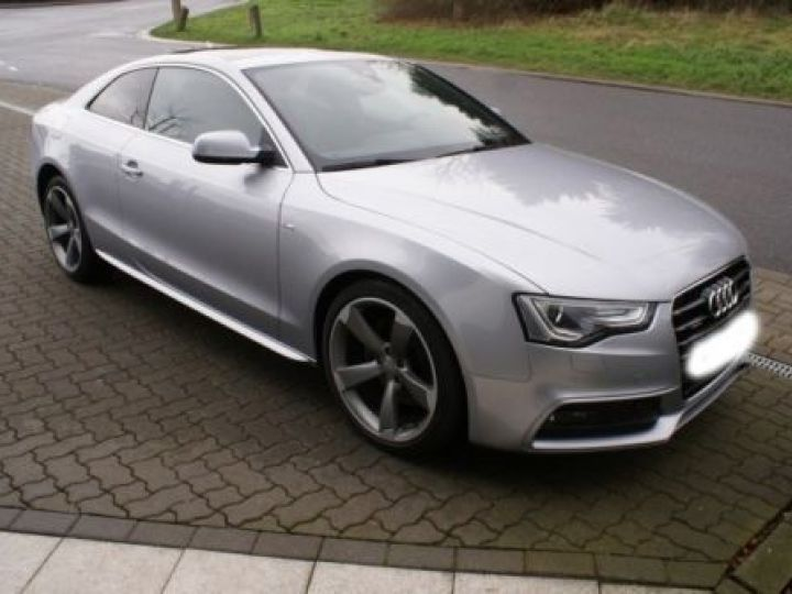 Audi A5 3.0 V6 TDI 245CH S LINE QUATTRO S TRONIC 7 GRIS  METALISEE - 2