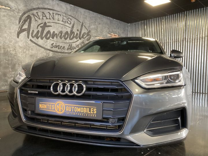 Audi A5 Audi A5 Coupé 2,0TFSI 252 ch quattro S-line S-tronc 7  GRIS DAYTONA  - 3
