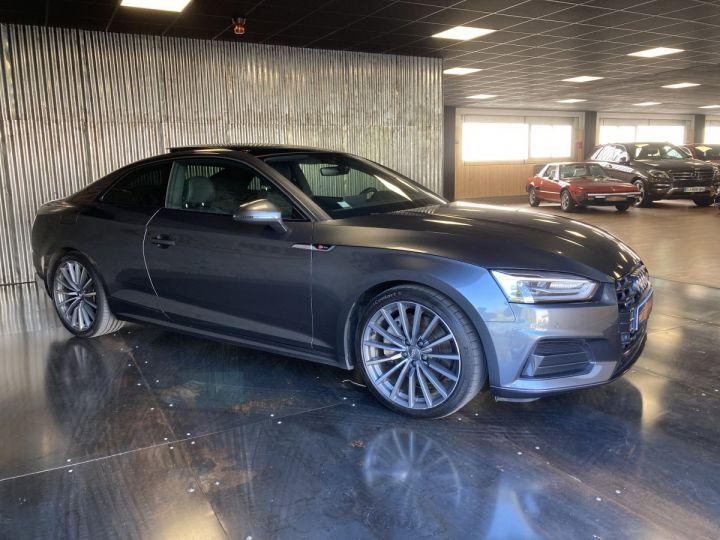 Audi A5 Audi A5 Coupé 2,0TFSI 252 ch quattro S-line S-tronc 7  GRIS DAYTONA  - 6