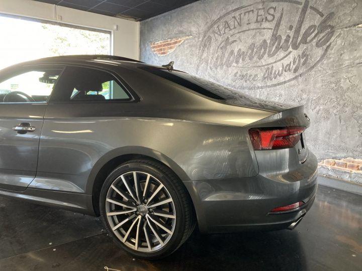 Audi A5 Audi A5 Coupé 2,0TFSI 252 ch quattro S-line S-tronc 7  GRIS DAYTONA  - 8