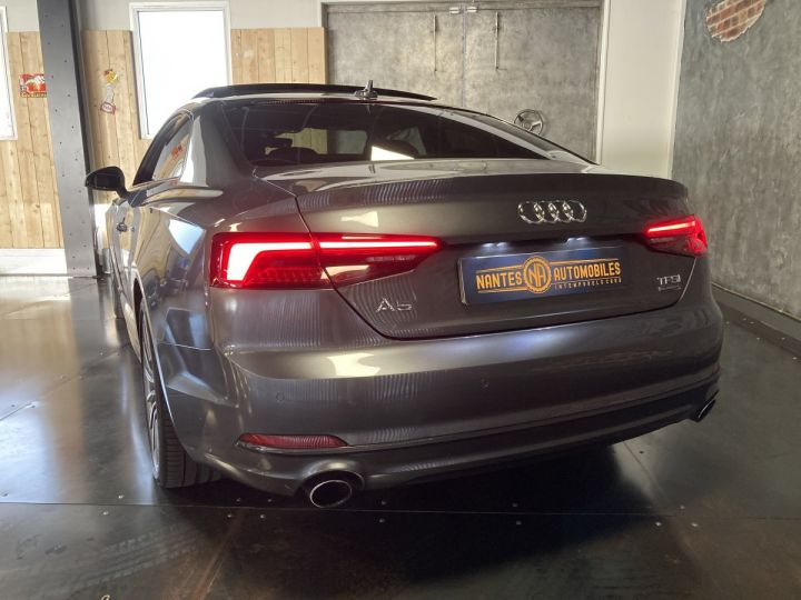 Audi A5 Audi A5 Coupé 2,0TFSI 252 ch quattro S-line S-tronc 7  GRIS DAYTONA  - 11