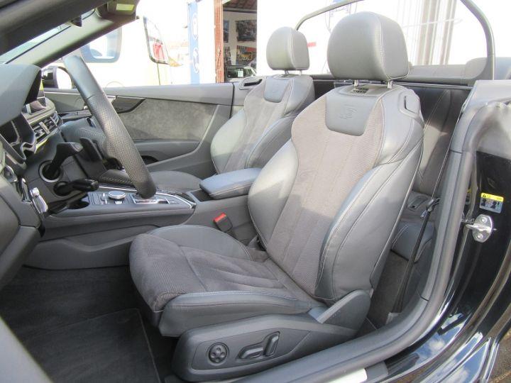 Audi A5 CABRIOLET 50 TDI 286CH S LINE QUATTRO TIPTRONIC 8 Noir Occasion - 4
